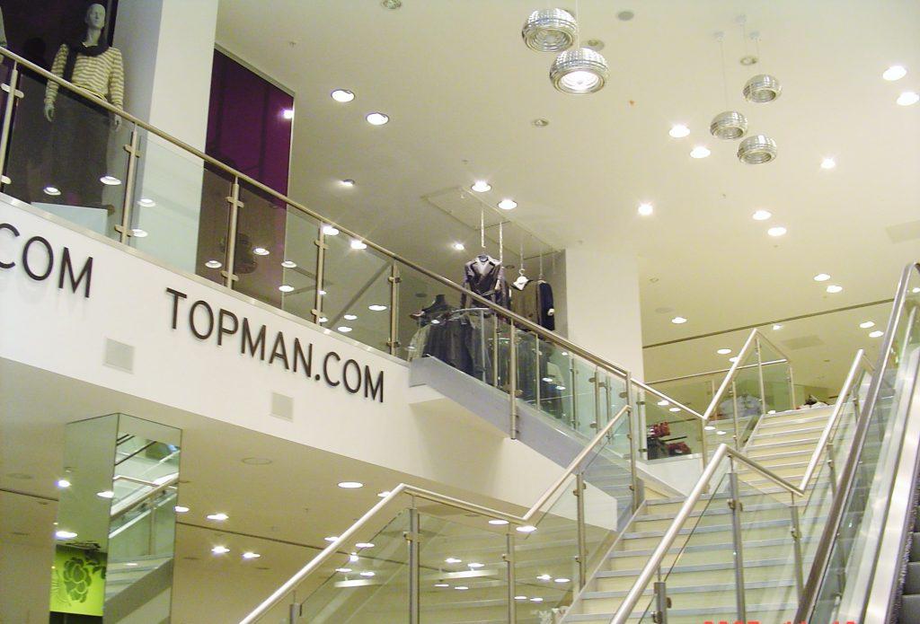 Retail mezzanine floor manufacturer bespoke design