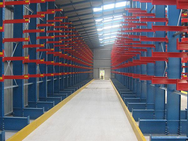 Bird Stainless Pop Up Warehouse Cantilever Racking