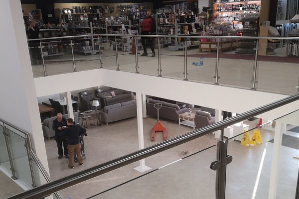 Retail Mezzanine Floor bespoke designed